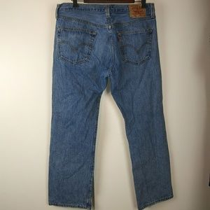 Levi's 501 button fly jeans size 36/30